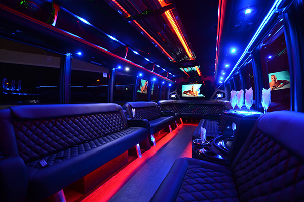40 Person Party Bus Rental Las Vegas