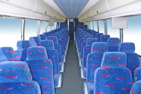 50 Person Charter Bus Rental Las Vegas