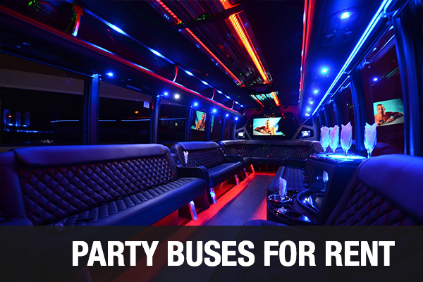 Party Buses For Rent Las Vegas